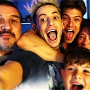 Frankie and Zach with the Rance Family